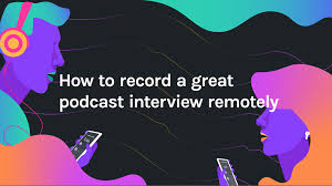 How to record a great podcast