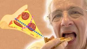 How people eat pizza