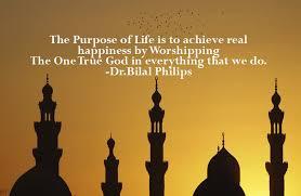the purpose of man in islam