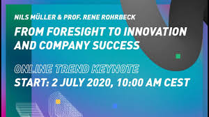 From foresight to innovation and company success