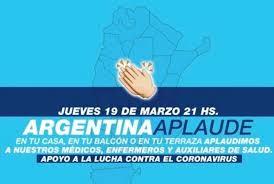 la hermosa cuarentena obligatoria en argentina