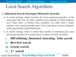 Local Search Artificial Intelligence