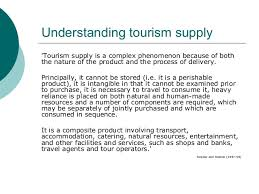 travelling Tourism Supply