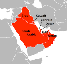 Qatar, Bahrain and Kuwait Human Geography