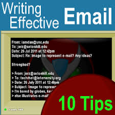 Some tips on how to write emails