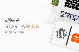 How to start blogging with Wordpress