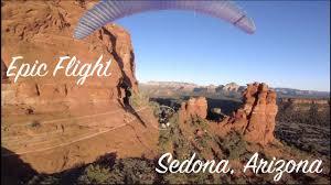 Paramotoring in Sedona Arizona
